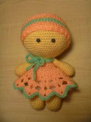 Кукла - пупс (вязанная)