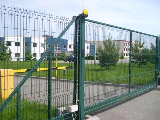 Ворота, заборы и калитки на заказ в Екатеринбурге Фото 1