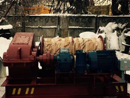 Лебедка маневровая электрическая ЛМ-10 с тросом в г. Алматы Фото 4