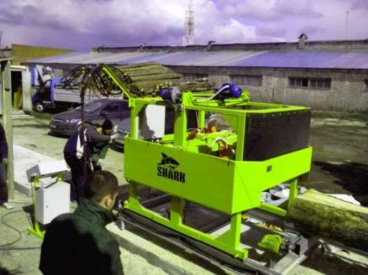 Производим Угловые дисковые пилорамы SHARK 2-600 ME