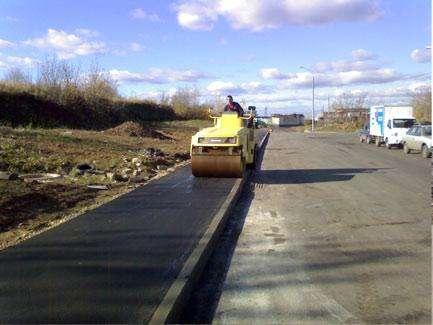 Асфальтирование дорог с компанией СДСУ-1 в Новосибирске Фото 2