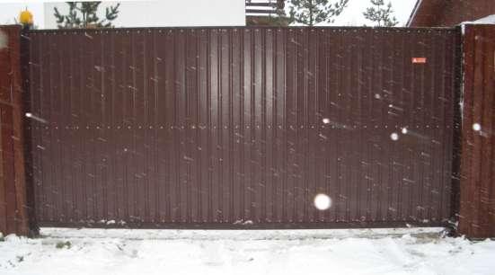 Ворота откатные 3,5*2,0 м
