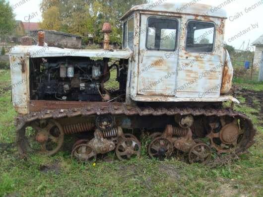 Гусеничный трактор Т-74