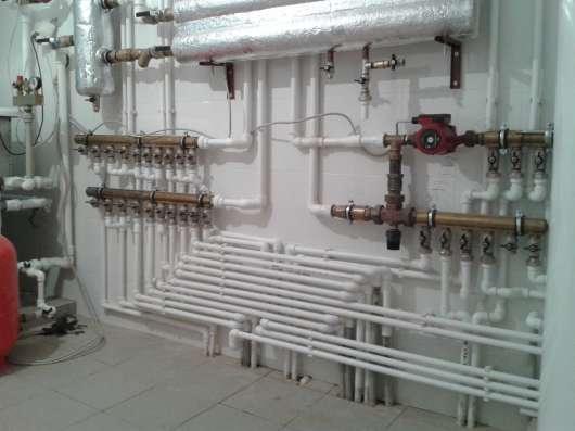Закупка, монтаж отопительных систем и водоснабжения