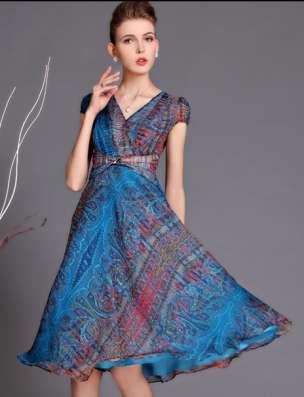 Шифоновое платье, 52 размера в Новосибирске Фото 6