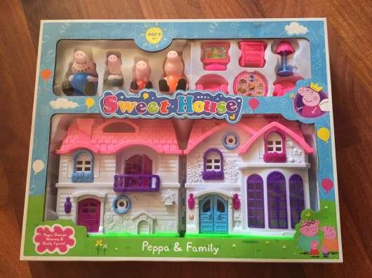 Новый набор свинка пеппа милый дом