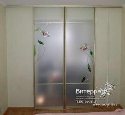 Двери с оформлением витражами в Набережных Челнах Фото 1