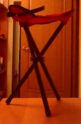 складной стул на трёх ножках