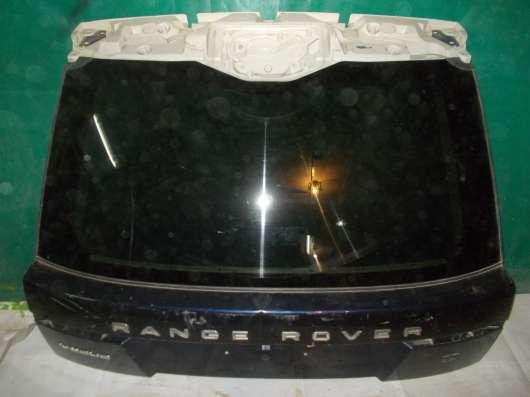 Крышка багажника Land Rover Voque в сборе со стеклом.