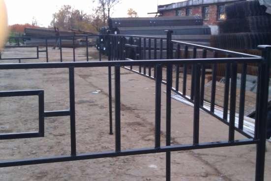 Ритуальные ограды с бесплатной доставкой в Воскресенске Фото 2