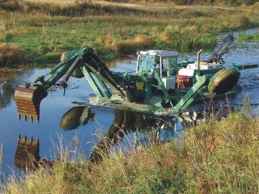 Дноуглубление и очистка водоемов