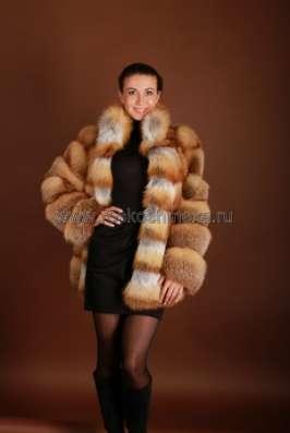 Меховые куртки из лисы и чернобурки