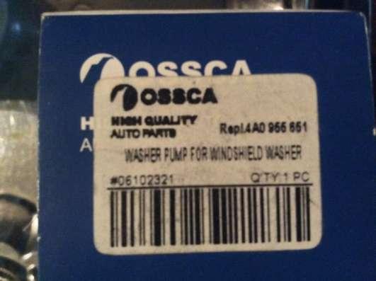 Насос стеклоомывателя Ossca 00876