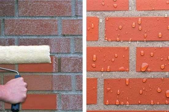 Пропитки для защиты фасадов
