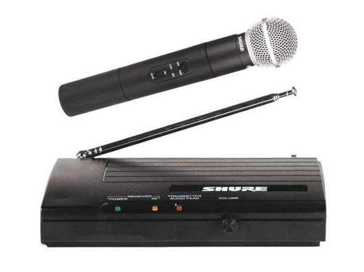 Shure SM58 беспроводной радиомикрофон, новый