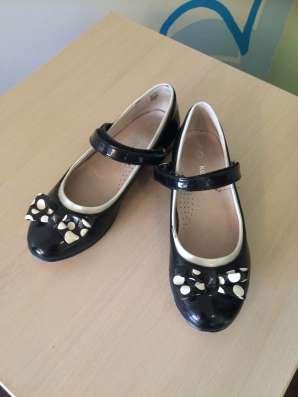 Черные школьные туфли kapika 31 в Екатеринбурге Фото 1