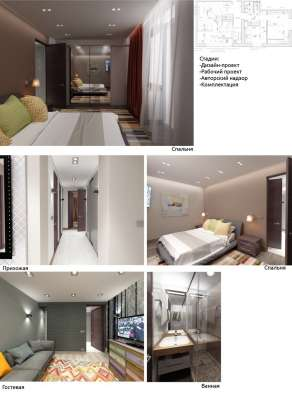 Дизайн интерьера квартир, коттеджей и офисов в Санкт-Петербурге Фото 4