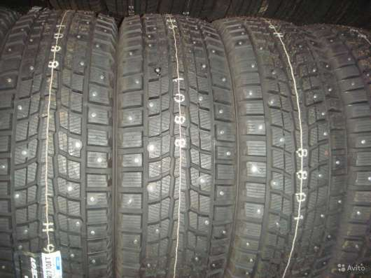 Новые шипы Dunlop 225/60 R16 Winter ICE01 102T