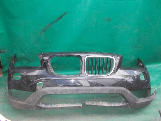 Передний бампер BMW X1