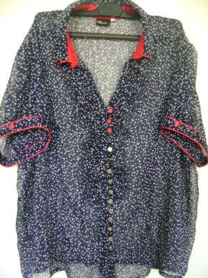 Симпатичная блуза 54-56р