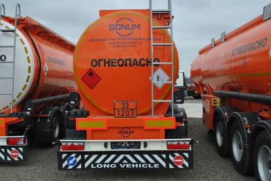 Полуприцеп БОНУМ цистерна бензовоз 28 м3 в Грозном Фото 4