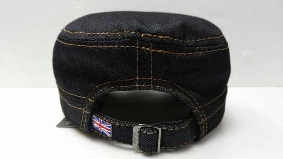 Кепка-милитари стиль (джинса)