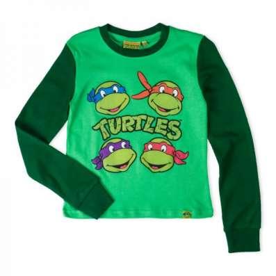 """Пижама детская Ninja Turtles зеленая """"черепашки ниндзя"""""""