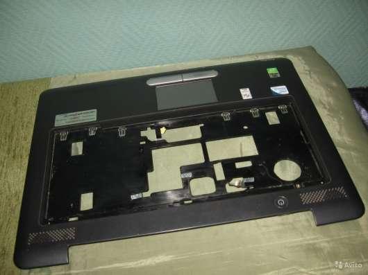 Панель с тачпадом от ноутбука Toshiba A300-27W в Москве Фото 4