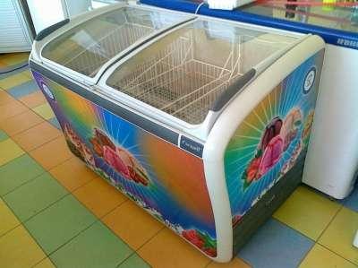 торговое оборудование БУ холодильная витрина