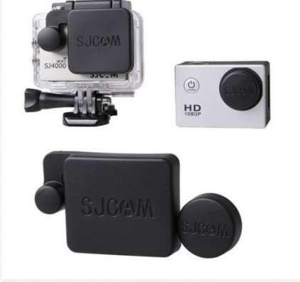 SJCam. Крышка на объектив и чехол на экшн камеру