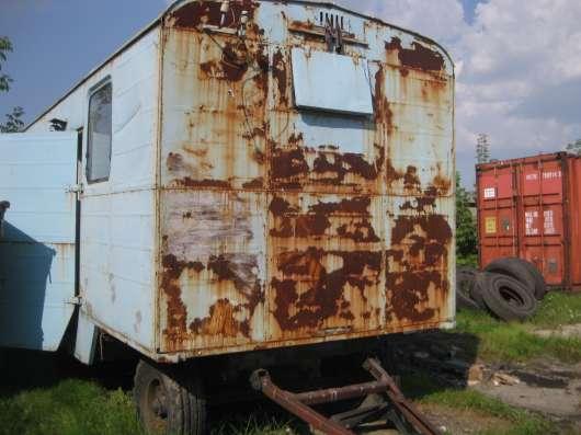 Продам строительный вагончик прицепной