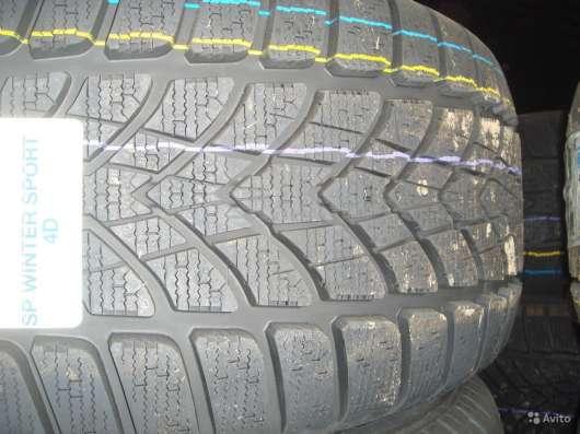 Новые липучки Dunlop 295 40 R20 Winter Sport 4D в Москве Фото 2