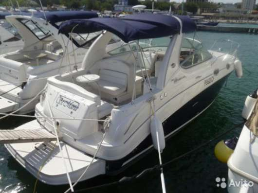 Катер Sea Ray 315 SUNDANCER, США, 2007 г/в, белый,