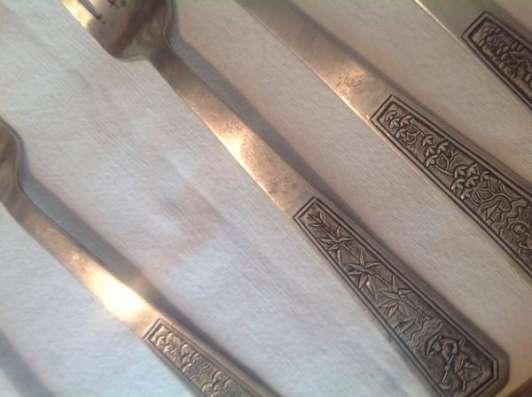 Столовый набор серебро вьетнам 100 лет