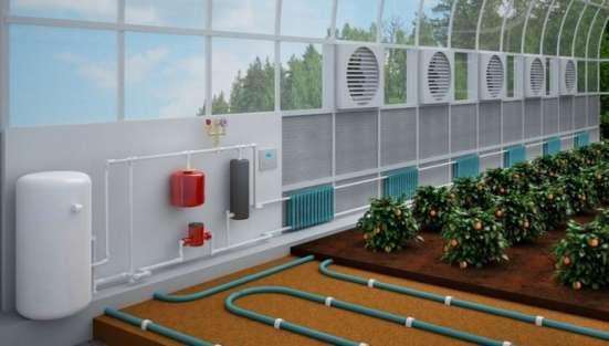 Система обогрева теплиц, ферм и т.п.современное оборудование в г. Ташкент Фото 2